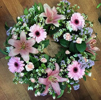 Gerbera Wreath   Aangela's Florist Kogarah